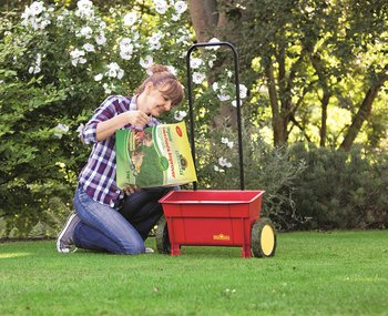 Using Organic Lawn Feed & Improver