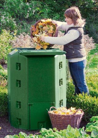 Using a composter