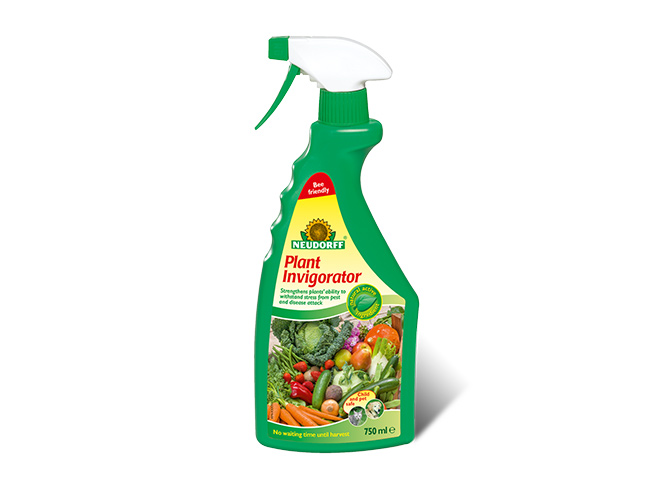 NEW: Plant Invigorator for strong flowers, fruits and vegetables